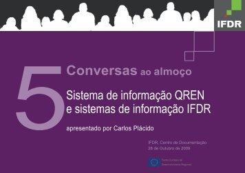 Conversas ao almoço - Instituto Financeiro para o Desenvolvimento ...