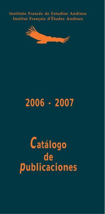 Carat armada 2006 207 - Instituto francés de estudios andinos