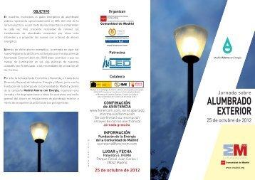ALUMBRADO EXTERIOR - Ifema
