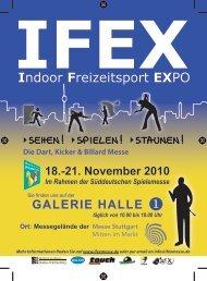 18.-21. November 2010 - IFEX