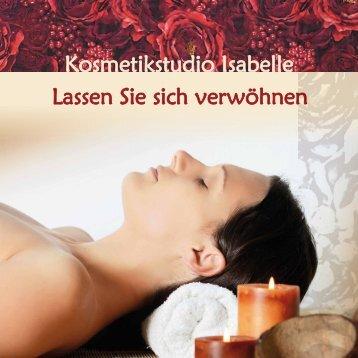 Kosmetikstudio Isabelle Lassen Sie sich verwöhnen