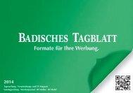 Badisches Tagblatt - Die-Zeitungen.de