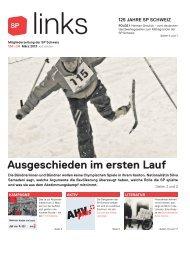 links 134, März 2013 - SP Schweiz