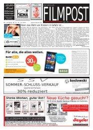 30% reduziert - auf filmpost.de