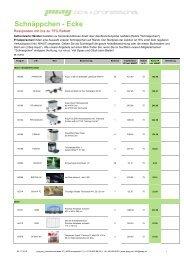 Schnäppchen Artikel downloaden - Puag AG
