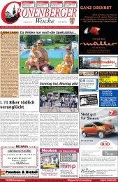 L 74 Biker tödlich verunglückt - Cronenberger Woche