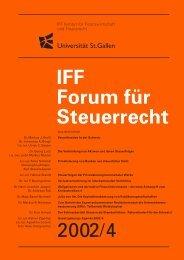 Securitisation in der Schweiz - IFF - Universität St.Gallen