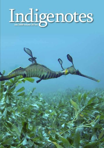 July 2009 Volume 20 Two - Indigenous Flora and Fauna Association