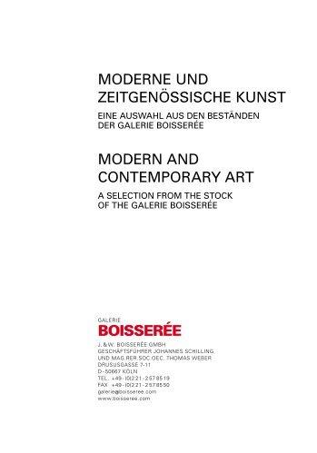 RICHTIGE ABBILDUNG - Galerie Boisseree
