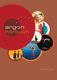 Herbst 2013 - Argon Hörbuch