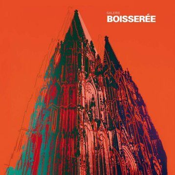 Katalog - Galerie Boisseree