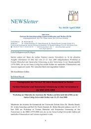 NEWSletter - Instytut Filologii Germańskiej - Uniwersytet Zielonogórski