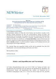 NEWSletter - Instytut Filologii Germańskiej