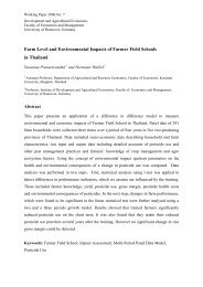 Farm Level and Environmental Impacts of Farmer Field Schools in ...