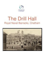 The Drill Hall - Medway Campus Online