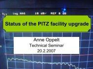 Status of the PITZ facility upgrade - Desy