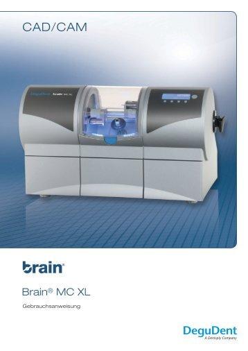 Gebrauchsanleitung Brain MC XL Gerät - DeguDent GmbH