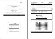 10. März 2005 Punkte Aufg. 3. K. NK Einsicht 1. 2. 3. Σ - IfH