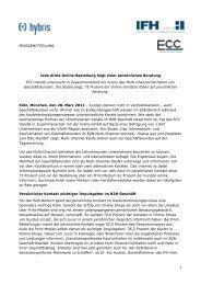 Das Informations- und Kaufverhalten von ... - ECC Handel