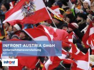 INFRONT AUSTRIA Gmbh