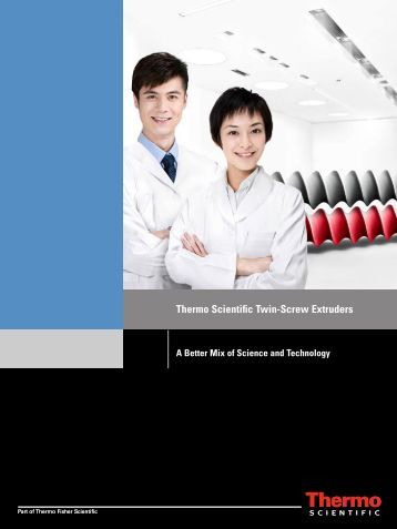 Thermo Scientific Twin-Screw Extruders - Hosmed