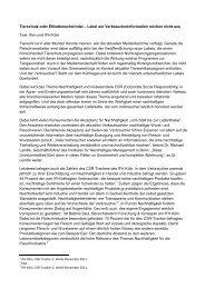 Tierschutz oder Etikettenschwindel – Label zur ... - IFH Köln