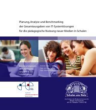 Planung, Analyse und Benchmarking der ... - streiter.de