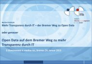 Mehr Transparenz durch IT – der Bremer Weg zu Open Data (pdf ...