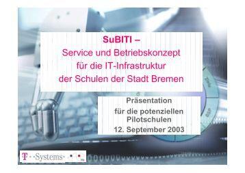 Präsentation von Andreas Breiter - ifib
