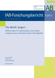The ReLOC project - Method report for implementing a cross ... - IAB