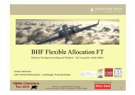 BHF Flexible Allocation FT - AECON GmbH