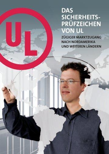 DAS SICHERHEITS- PRÃœFZEICHEN VON UL - UL.com
