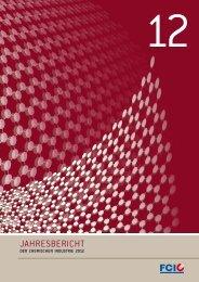 Jahresbericht 2012, Fachverband der Chemischen Industrie ...
