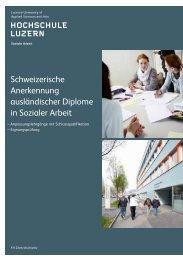 Broschüre - Weiterbildung - Hochschule Luzern