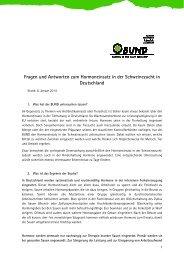 Fragen und Antworten zum Hormoneinsatz in der ... - Bund