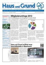 Ausgabe 1/14 (PDF - Haus und Grund Düsseldorf