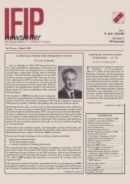 March 1993 - IFIP