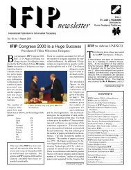 March 2001 - IFIP