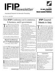 June 2001 - IFIP