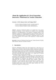 Sample Word Paper for Co-located Conferences at the WCC ... - IFIP