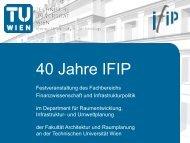 Festveranstaltung 40 Jahre IFIP