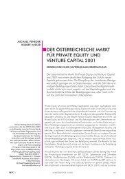 der österreichische markt für private equity und venture capital ... - IFIP