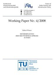 Working Paper Nr.: 4/2008 - IFIP - Technische Universität Wien