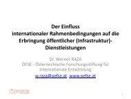 Der Einfluss europäischer und internationaler ... - IFIP