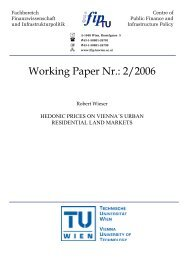 Working Paper Nr.: 2/2006 - IFIP