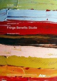 Fringe Benefits Studie - Aon