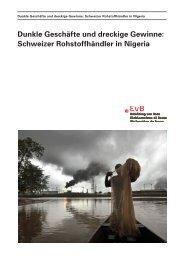 Fallstudie: Schweizer Rohstoffhändler in Nigeria - Erklärung von Bern