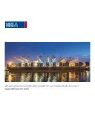 Geschäftsbericht 2012 - HHLA