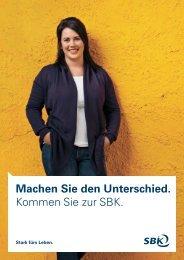 SBK als Arbeitgeber
