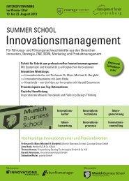 Flyer-SummerSchool Innovationsmanagement.pdf - Amiando